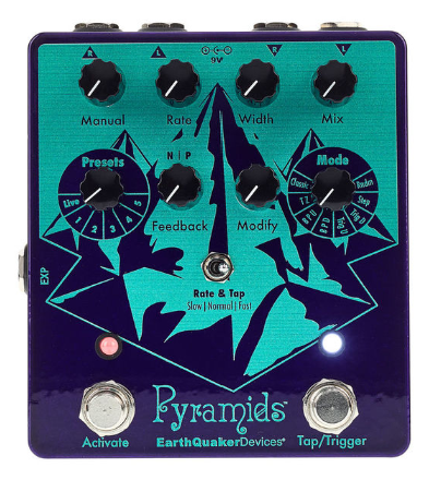 earthquaker pyramid flanger pedal