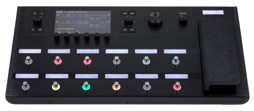 line 6 helix pedal multiefecto