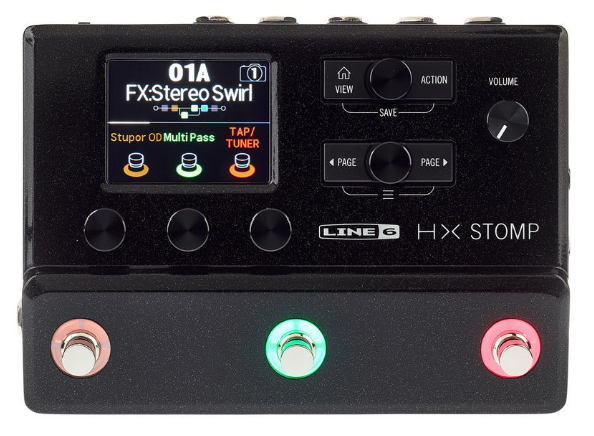 helix stomp pedal multiefectos